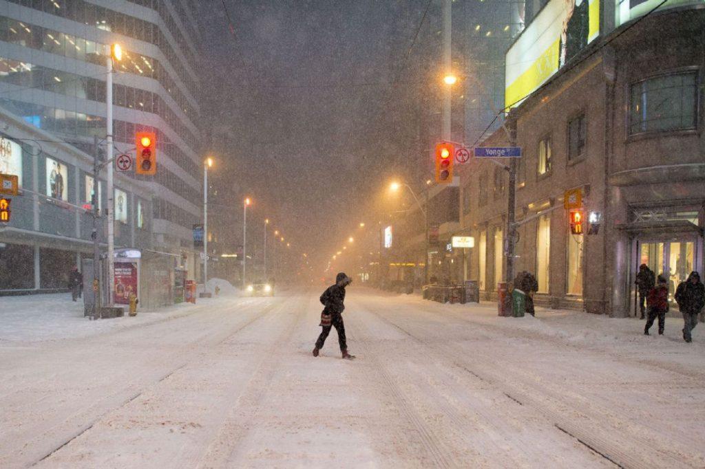 Toronto Snowstorm - Springbank Mechanical Toronto Commercial HVAC Company