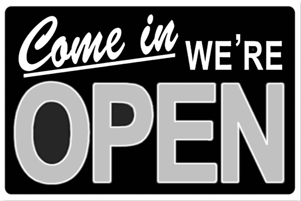 Open Sign - Springbank Mechanical Toronto Commercial HVAC Company