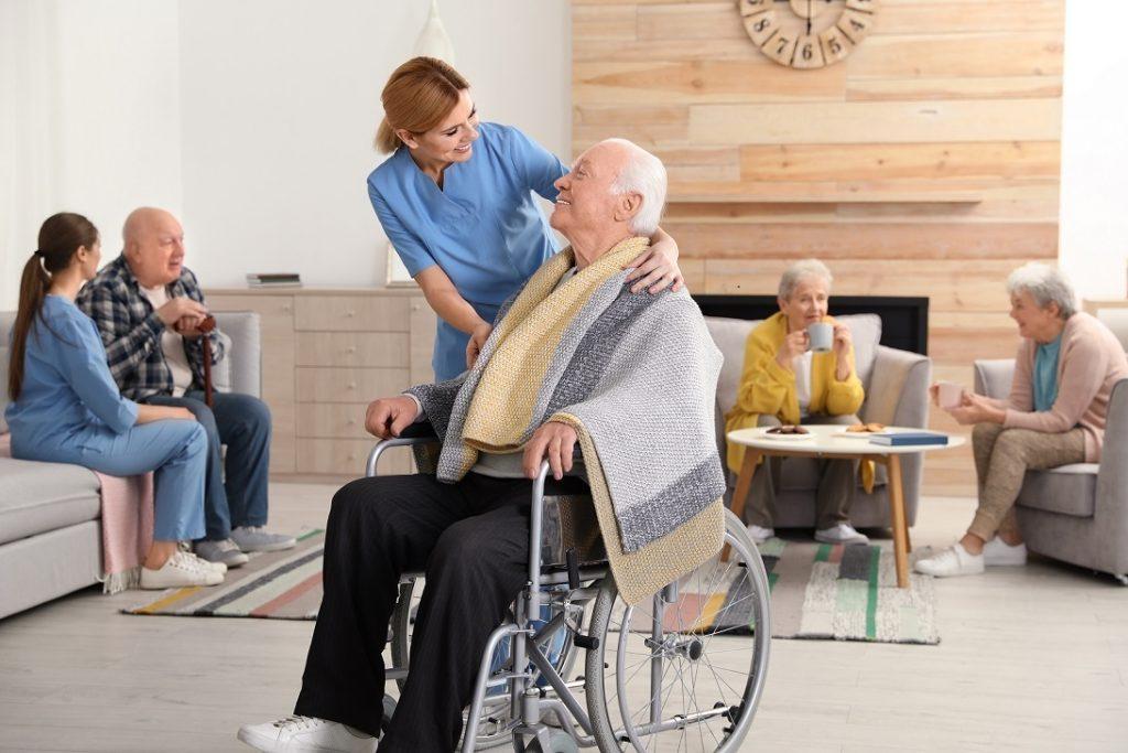 Seniors in a Long Term Care Facility - Springbank Mechanical Toronto HVAC Company